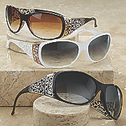 scroll side sunglasses 10