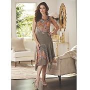 Mala Print Dress