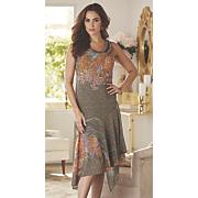 mala print dress 10