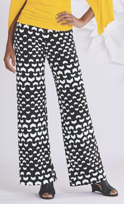Abstract Chevron Pant