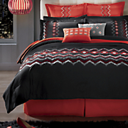 8 pc  tempo embroidered bed set