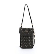 studded cell phone crossbody bag