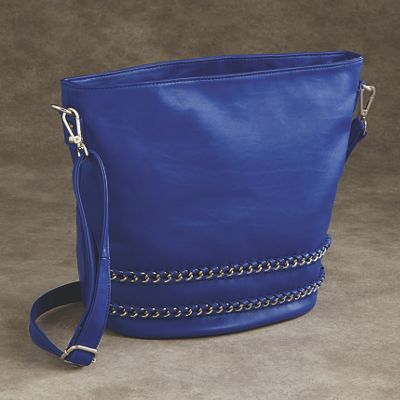 Jania Crossbody Bucket Handbag