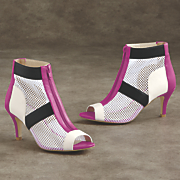sunny mead mesh bootie