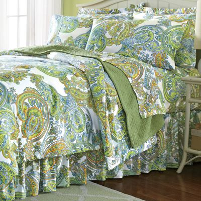 Bright Paisley Complete Bedding Set