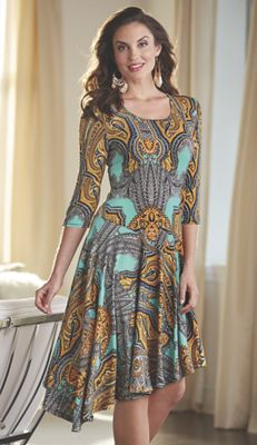 Ginger Print Dress