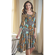 ginger print dress 12