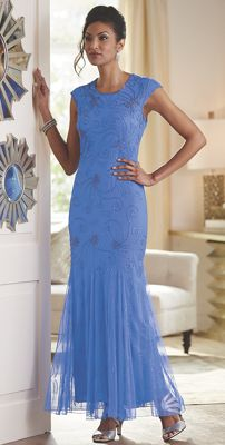 Darcia Beaded Gown