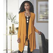 juliana embellished back cardigan