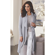 silver cascading sweater