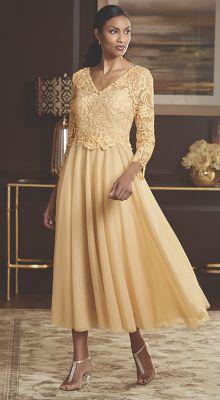 Isabella Lace Bodice Dress