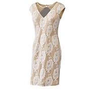 gabriella lacy v neck dress