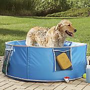 large pop up pet bath