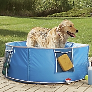 large pop up pet bath