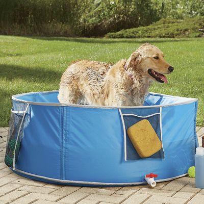Large Pop-Up Pet Bath