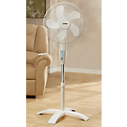 16  wave oscillating stand fan