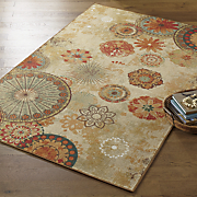 alexa medallion indoor outdoor rug by mohawk