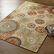 alexa medallion indoor outdoor rug by mohawk