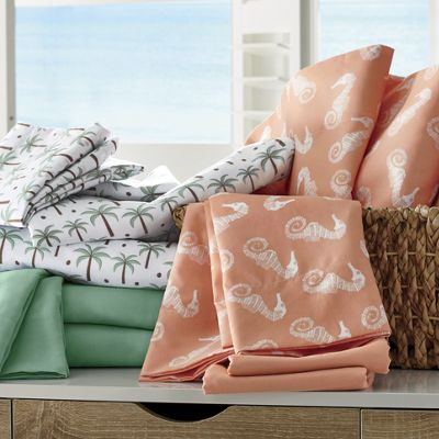 By The Shore 2-Pack Microfiber Sheets
