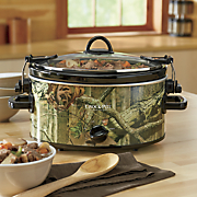 5 qt  mossy oak cook   carry by crock pot
