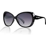 oversized cat eye sunglasses by steve madden