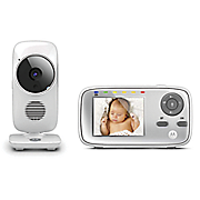 2 8  video baby monitor by motorola