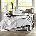 Embroidered Medallion Coverlet by Jessica Simpson<sup class='mark'>&reg;</sup>