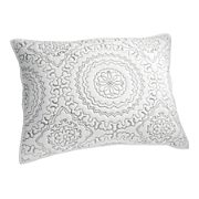 embroidered medallion sham by jessica simpson