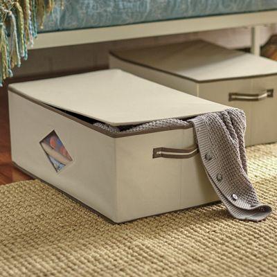 Set of 2 Closet Storage Boxes