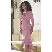 cherise shawl collar skirt suit