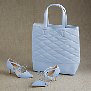 danette quilted bag and pump