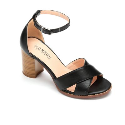 Block-Heel Ankle Strap by Monroe & Main