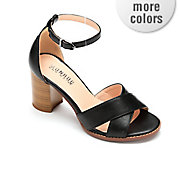 block heel ankle strap by monroe and main