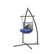 Peacock Hammock Swing Pillow and Stand