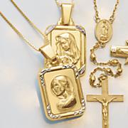 face prayer pendant