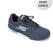 women s go mini flex hotmelt mesh lace up shoe by skechers