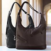 max buffalo leather hobo bag by marc chantal