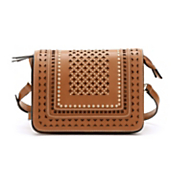 studded saddle crossbody bag