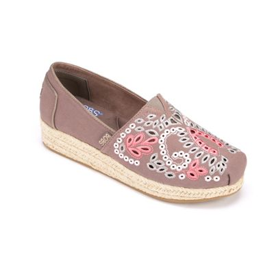 Eyelet Canvas Espadrille by Skechers