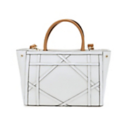 geometric design satchel