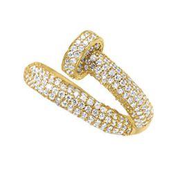 Cubic Zirconia Nail Ring