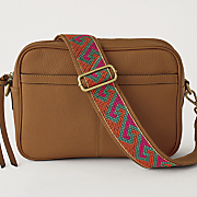 leather guitar strap crossbody bag