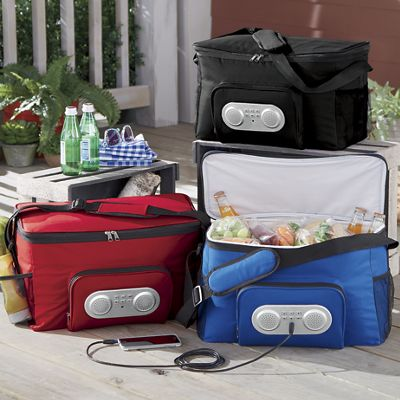 Cooler Bag with FM Radio by Craig