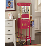 movie time popcorn cart