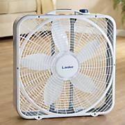 20  weather shield box fan by lasko