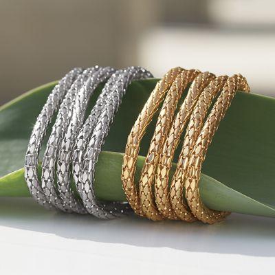 10-Piece Stretch Bracelet Set