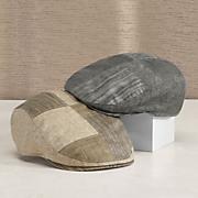 linen patchwork ivy cap by stetson