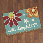 live laugh love mat   1  10 1 4  x 2  9 1 2