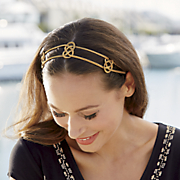 metal stretch headband