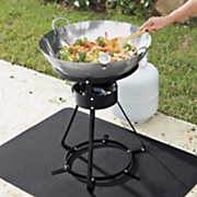 stainless steel outdoor wok